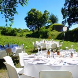 bruiloft party tuin