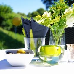 cu bruiloftfeest tafel